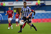 Julian Borner of Sheffield Wednesday on the attack during the EFL Sky Bet Championship match between Sheffield Wednesday and Bristol City at Hillsborough, Sheffield, England on 22 December 2019.