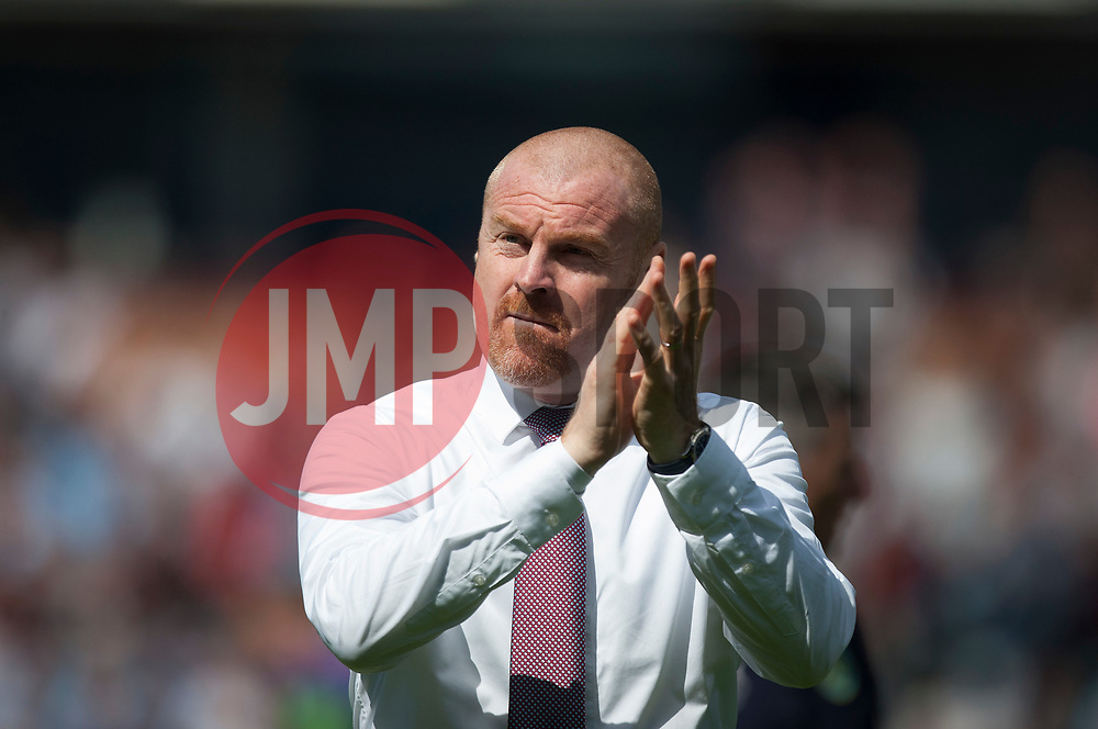 Burnley manager Sean Dyche - Mandatory by-line: Jack Phillips/JMP - 12/05/2019 - FOOTBALL - Turf Moor - Burnley, England - Burnley v Arsenal - English Premier League