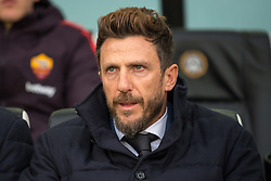 November 24, 2018 - Udine, UD, Italia - Mister Eusebio Di Francesco of Roma during the Serie A football match between Udinese and Roma at Dacia Stadium, Udine, Italy, on November 24th, 2018. (Credit Image: © AFP7 via ZUMA Wire)