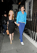 01.OCTOBER.2011. LONDON<br /> <br /> MUSIC PRODUCER MARK RONSON LEAVES THE ARTS CLUB, IN MAYFAIR LONDON WITH HIS NEW WIFE JOSEPHINE DE LA BAUME<br /> <br /> BYLINE: EDBIMAGEARCHIVE.COM<br /> <br /> *THIS IMAGE IS STRICTLY FOR UK NEWSPAPERS AND MAGAZINES ONLY*<br /> *FOR WORLD WIDE SALES AND WEB USE PLEASE CONTACT EDBIMAGEARCHIVE - 0208 954 5968*