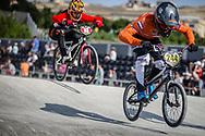 #244 during practice at the 2018 UCI BMX World Championships in Baku, Azerbaijan.