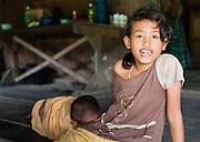 Mentawai ingigenous girls (Indonesia).
