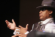 "October 20, 2012-New York, NY: Hip Hop Living Legend Grand Master Melle Mel at From Beat Street to These Streets: Hip Hop Then and Now panel discussion and special screening of "" Beat Street"" co-hosted by the Schomburg Center, the Tribeca Youth Screening Series & Belafonte Enterprises and held at The Schomburg Center on October 20, 2012 in Harlem, New York City  (Terrence Jennings)"