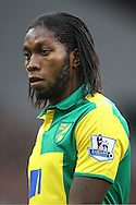 A general view of Dieumerci Mbokani who was at Zaventem Airport, Belgium this morning when a series of bombs exploded. He is reportedly unharmed but shaken.<br /> Picture by Paul Chesterton/Focus Images Ltd +44 7904 640267<br /> 22/03/2016<br /> <br /> FIL NORWICH WEST BROM 079.JPG<br /> <br /> Original caption:<br /> <br /> Dieumerci Mbokani of Norwich during the Barclays Premier League match at Carrow Road, Norwich<br /> Picture by Paul Chesterton/Focus Images Ltd +44 7904 640267<br /> 24/10/2015