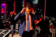 UTRECHT - ChristenUnie (Gert-Jan Segers) Thierry Baudet Forum voor Democratie (Thierry Baudet) SGP (Kees van der Staaij) en 50Plus (Henk Krol) tijdens het NOS-televisiedebat aan de vooravond van de gemeenteraadsverkiezingen. PvdA (Lodewijk Asscher) en CDA (Sybrand Buma) Leefbaar Rotterdam (Joost Eerdmans)mark rutte kuzu denk ROBIN UTRECHT