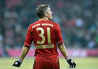 FUSSBALL   1. BUNDESLIGA  SAISON 2012/2013   9. Spieltag FC Bayern Muenchen - Bayer 04 Leverkusen    28.10.2012 Bastian Schweinsteiger (FC Bayern Muenchen)