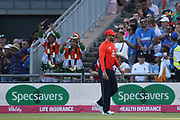 Jonny Bairstow during the International T20 match between England and India at Old Trafford, Manchester, England on 3 July 2018. Picture by George Franks.