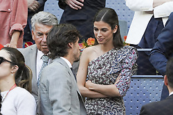 May 12, 2019 - Madrid, Spain - Sandra Gago attend the men's final during day 9 of the Mutua Madrid Open at La Caja Magica on May 12, 2019 in Madrid, Spain. (Credit Image: © Oscar Gonzalez/NurPhoto via ZUMA Press)