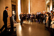 SIR NICHOLAS SEROTA, Archive 40 Reception. 40th Anniversary of the Tate archive. Tate Britain. Millbank. London. 25 October 2010. -DO NOT ARCHIVE-© Copyright Photograph by Dafydd Jones. 248 Clapham Rd. London SW9 0PZ. Tel 0207 820 0771. www.dafjones.com.