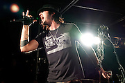 Three Days Grace performing at The Machine Shop in Flint, MI on September 19, 2010