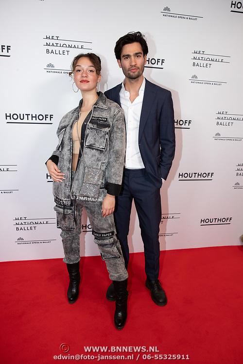 NLD/Amsterdam/20200206 - Ballet premiere Frida, Jade Olieberg en ...........