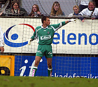 Fotball, 26. april 2003, Tippeligaen, Sogndal-Tromsø 3-1. Terje Skjedestad, Sogndal