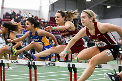 60 hurdles, BC, BU Terrier Indoor track meet