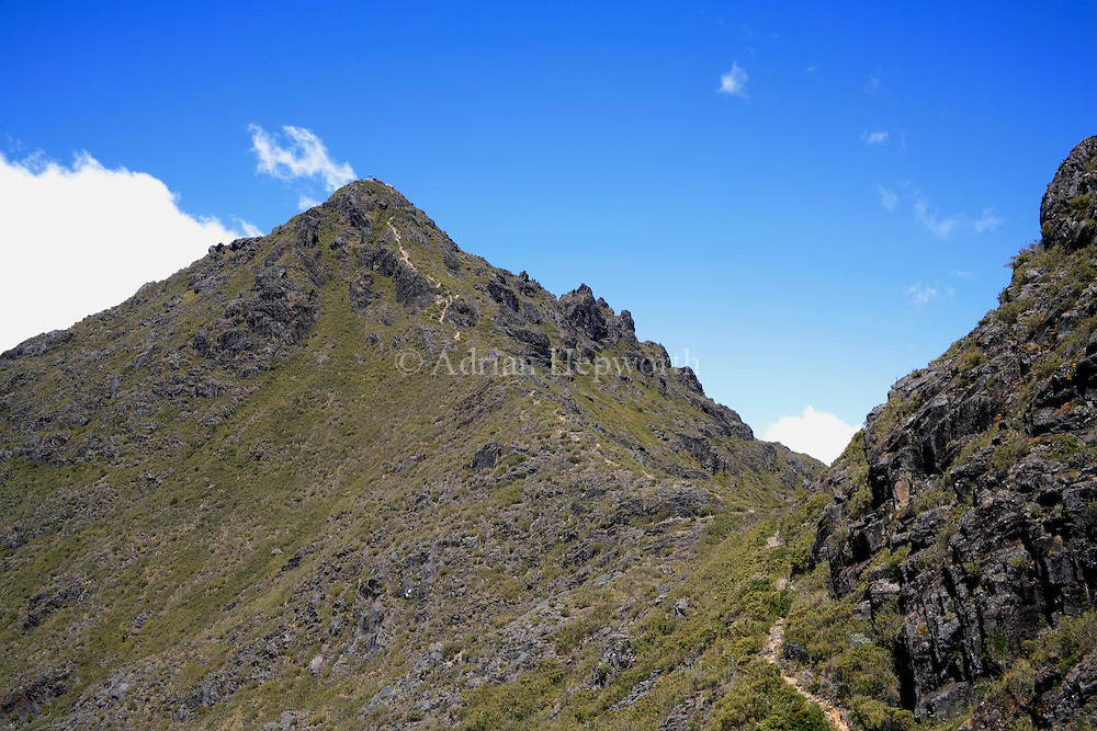 Summit of Mount Chirripo, Costa Ricas highest mountain  3820m. Chirripo National Park, Costa Rica.<br /> <br /> For pricing click on ADD TO CART (above). We accept payments via PayPal.
