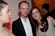 SIMON OLDFIELD; JULIA OLDFIELD, TODÕS Art Plus Drama Party 2011. Whitechapel GalleryÕs annual fundraising party in partnership  with TODÕS and supported by HarperÕs Bazaar. Whitechapel Gallery. London. 24 March 2011. -DO NOT ARCHIVE-© Copyright Photograph by Dafydd Jones. 248 Clapham Rd. London SW9 0PZ. Tel 0207 820 0771. www.dafjones.com.<br /> SIMON OLDFIELD; JULIA OLDFIELD, TOD'S Art Plus Drama Party 2011. Whitechapel Gallery's annual fundraising party in partnership  with TOD'S and supported by Harper's Bazaar. Whitechapel Gallery. London. 24 March 2011. -DO NOT ARCHIVE-© Copyright Photograph by Dafydd Jones. 248 Clapham Rd. London SW9 0PZ. Tel 0207 820 0771. www.dafjones.com.