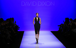 A model walks the runway wearing David Dixon FW 2016 collections during the Toronto Fashion Week Fall, Winter 2016 at David Pecaut Square in Toronto, Canada, March 16, 2016. EXPA Pictures © 2016, PhotoCredit: EXPA/ Photoshot/ yanzhonghua<br /> <br /> *****ATTENTION - for AUT, SLO, CRO, SRB, BIH, MAZ, SUI only*****