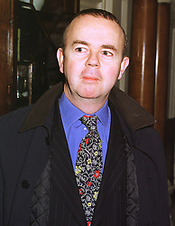 Editor of Private Eye IAN HISLOP, at a luncheon in London on 3rd February 1999.MNW 46