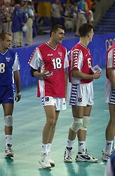 23-09-2000 AUS: Olympic Games Volleybal Joegoslavie - Argentinie, Sydney<br /> Igor Vusurovic