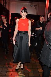 LILAH PARSONS at the YSL Beauty: YSL Loves Your Lips party held at The Boiler House,The Old Truman Brewery, Brick Lane,London on 20th January 2015.