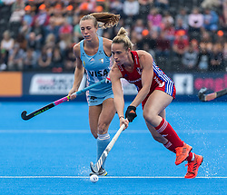 Susannah Townsend of Great Britain Women during the 2019 Women's FIH Pro League match at Lee Valley Hockey Centre, Stratford<br /> Picture by Simon Parker/Focus Images Ltd <br /> 18/05/2019