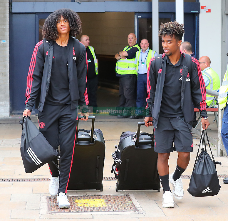 Manchester United team returns from USA Pre-Season Tour - Manchester