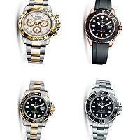 Police Scotland Re-appeal for information regarding the Gleneagles Hotel robbery on Tuesday 27th June 2017….<br />A police handout photo of Rolex watches..Enquiries so far have established that the Audi car which was abandoned in the Auchterarder area was stolen from the Kent area in June.  The two door grey-coloured Range Rover Evoque was stolen from the London area in May.  Both vehicles were bearing cloned number plates. Police Scotland are appealing to anyone who may have information regarding the theft of these vehicles to come forward….07.07.17<br />Picture by Graeme Hart.<br />Copyright Perthshire Picture Agency<br />Tel: 01738 623350  Mobile: 07990 594431