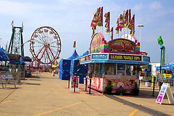 01 August 2014:   McLean County Fair. Amusement rides