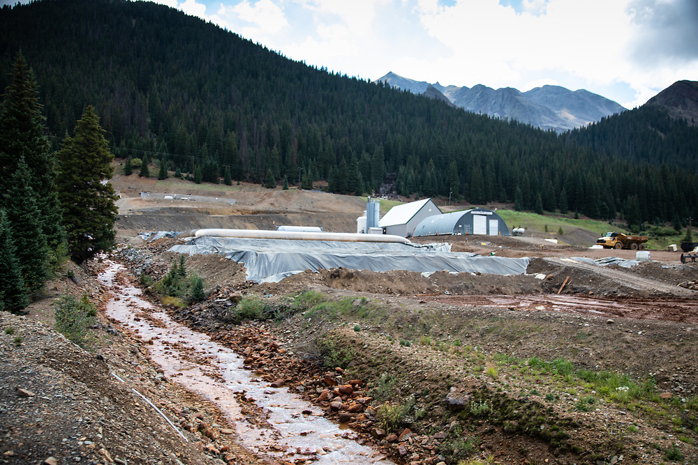 The Gladstone Water Treatment Plant that is remediation the polltion from the <br /> Gold King Mine that impacted the Animas River .