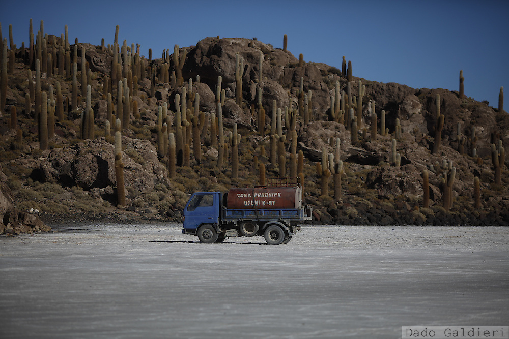Uyuni salt desert, Bolivia, Monday, July 26, 2010. (Photo Dado Galdieri)