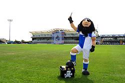 Bristol Rovers' mascot, Captain Black Arab - Photo mandatory by-line: Dougie Allward/JMP - Tel: Mobile: 07966 386802 21/07/2013 - SPORT - FOOTBALL - Bristol -  Bristol Rovers Fun Day