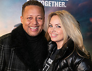 2010, January 20. Pathe ArenA, Amsterdam, the Netherlands. Sam de Wit and Jennifer Prins at the dutch premiere of Bad Boys For Life.