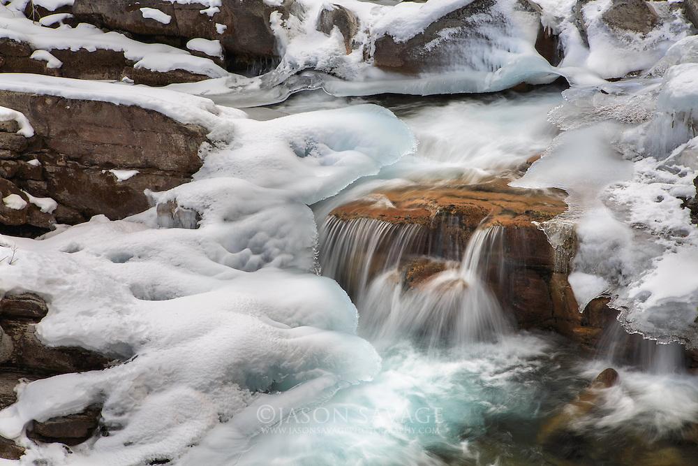 Deerborn River, Scapegoat Wilderness, Montana.