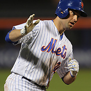 NEW YORK, NEW YORK - APRIL 27:  Neil Walker #20 of the New York Mets rounds the bases after hitting his ninth home run of the season during the New York Mets Vs Cincinnati Reds MLB regular season game at Citi Field on April 27, 2016 in New York City. (Photo by Tim Clayton/Corbis via Getty Images)