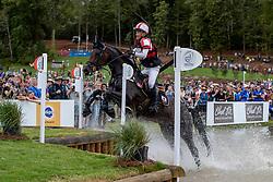 KITJIMA Ryuzo (JPN), Queen Mary<br /> Tryon - FEI World Equestrian Games™ 2018<br /> Vielseitigkeit Teilprüfung Gelände/Cross-Country Team- und Einzelwertung<br /> 15. September 2018<br /> © www.sportfotos-lafrentz.de/Dirk Caremans