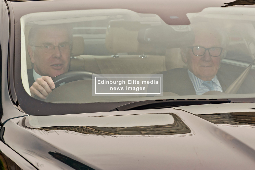 Michael Heseltine leaving the Houses of parliament following Prime Minister's Questions. <br /> <br /> Richard Hancox   EEm 22052019