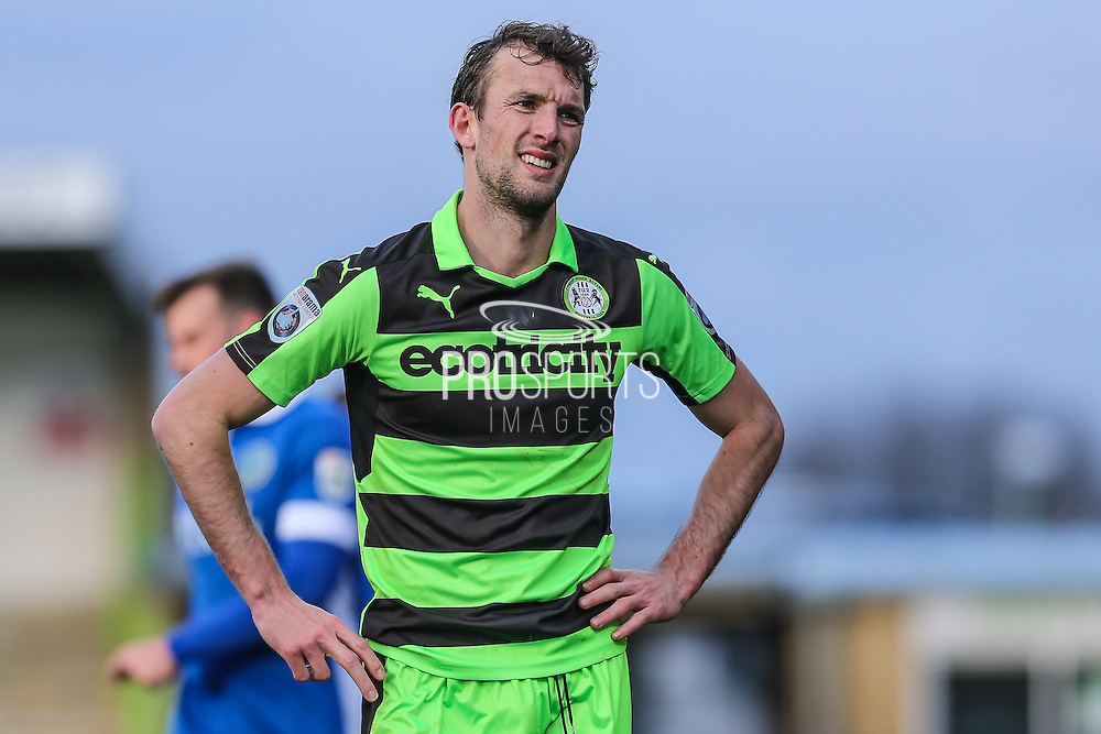 Forest Green Rovers Christian Doidge(9) during the Vanarama National League match between Forest Green Rovers and Macclesfield Town at the New Lawn, Forest Green, United Kingdom on 4 March 2017. Photo by Shane Healey.
