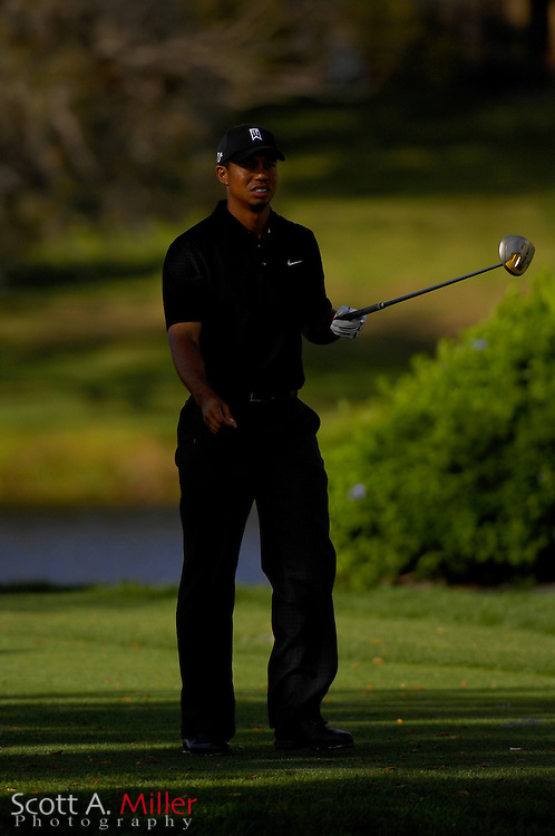 Tiger Woods in action during the Arnold Palmer Invitational at Bay Hill Club and Lodge on March 16, 2007 in Orlando, Florida...© 2007 Scott A. Miller