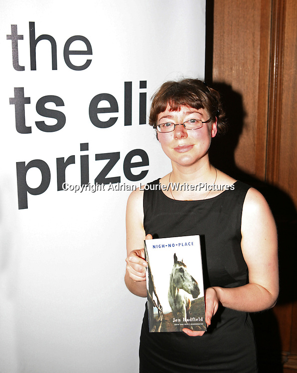 Jen Hadfield, winner of the TS Eliot Prize for Poetry, present in London 120109<br /> <br /> copyright Adrian Lourie/Writer Pictures<br /> contact +44 (0)20 822 41564<br /> info@writerpictures.com<br /> www.writerpictures.com