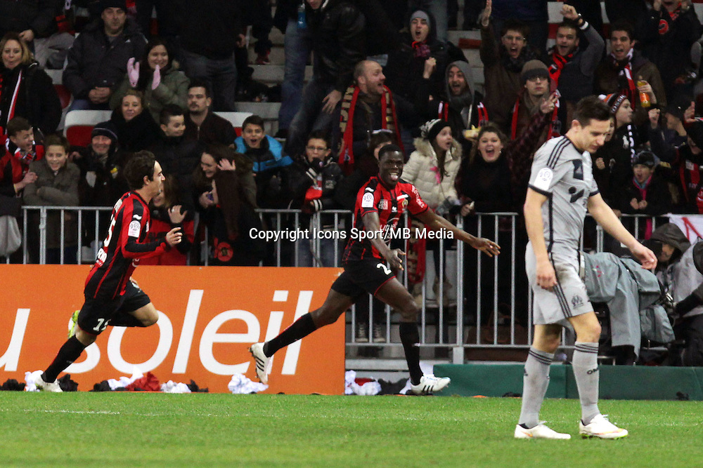 Romain GENEVOIS  - 23.01.2015 - Nice / Marseille - 22eme journee de Ligue 1<br />