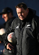 Coach Steve Hansen, <br /> All Blacks training session at Eden Park ahead of the upcoming test series against France. Auckland, New Zealand. Thursday 7 June 2018. © Copyright photo: Andrew Cornaga / www.Photosport.nz