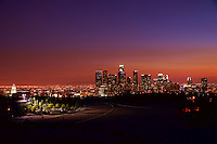 Skyline from Elysian Park at Sunset (3)