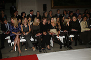 Hon Flora Hesketh, Kate Goldsmith and Lady Eloise Anson. Party to celebrate the Christian Lacroix Fashion in Motion fashion show and the opening of  	M/M Paris: Antigone Under Hypnosis part of  Paris Calling the UK-wide celebration of contemporary French culture. V. & A. London. 31 October 2006. -DO NOT ARCHIVE-© Copyright Photograph by Dafydd Jones 66 Stockwell Park Rd. London SW9 0DA Tel 020 7733 0108 www.dafjones.com