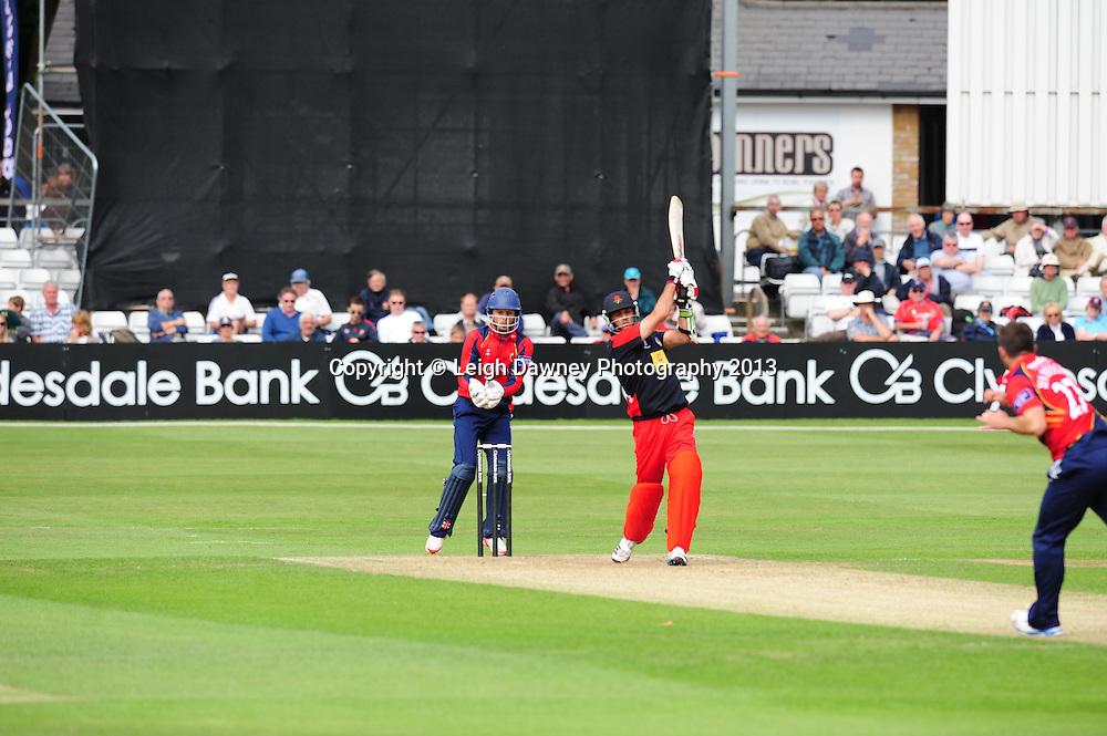 "Essex Eagles v Lancashire ""Lighting"" at Essex County Cricket Ground, Chelmsford, Esesx. 16.06.13Mandatory Credit: © Leigh Dawney"