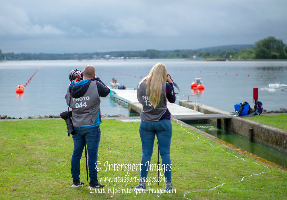Glasgow, Scotland, Friday, 3rd  August 2018, Media Photography the,  European Games, Rowing, Strathclyde Park, North Lanarkshire, © Peter SPURRIER/Alamy Live News