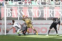 gol Levan Mchedlidze goal<br /> Milano 23-04-2017, Stadio Giuseppe Meazza, Football Calcio 2016/2017 Serie A, Milan - Empoli, Foto Image Sport/Insidefoto