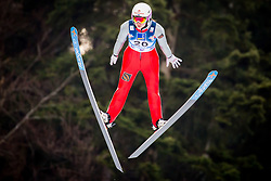 Sofia Tikhonova (RUS) during 1st Round at Day 1 of FIS Ski Jumping World Cup Ladies Ljubno 2018, on January 27, 2018 in Ljubno ob Savinji, Ljubno ob Savinji, Slovenia. Photo by Ziga Zupan / Sportida