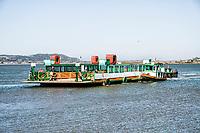 Ferry boat to Santa Marta Lighthouse. Laguna, Santa Catarina, Brazil. / <br /> Balsa para o Farol de Santa Marta. Laguna, Santa Catarina, Brasil.