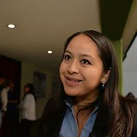 Toluca, México.- (Abril 06, 2018).- Ivonne Sánchez Vázquez, Coordinadora de Desarrollo Institucional del Centro de Atención Psicopedagógica y Desarrollo Infantil (CAPPDI) durante la jornada de concientización de Autismo realizada en la Facultad de Medicina de la Universidad Autónoma del Estado de México. Agencia MVT / Crisanta Espinosa.