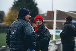 Bristol City Women fans brave the cold - Rogan Thomson/JMP - 06/11/2016 - FOOTBALL - The Northcourt Stadium - Abingdon-on-Thames, England - Oxford United Women v Bristol City Women - FA Women's Super League 2.