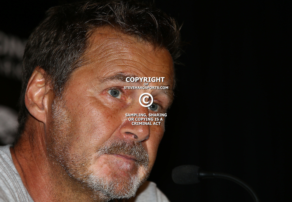 DURBAN, SOUTH AFRICA, 8 September, 2016 -Robert du Preez (Head Coach) of the Cell C Sharks during The Cell C Sharks training session at Growthpoint Kings Park in Durban, South Africa. (Photo by Steve Haag)<br /> <br /> images for social media must have consent from Steve Haag